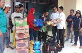 Bupati Banyuasin Salurkan Bantuan Untuk Korban Angin Puting Beliung