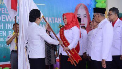dr. Sri Fitriyanti Askolani, Dikukuhkan Sebagai Bunda Paud – Dilantik sebagai Ketua Palang Merah Indonesia Kabupaten Banyuasin.