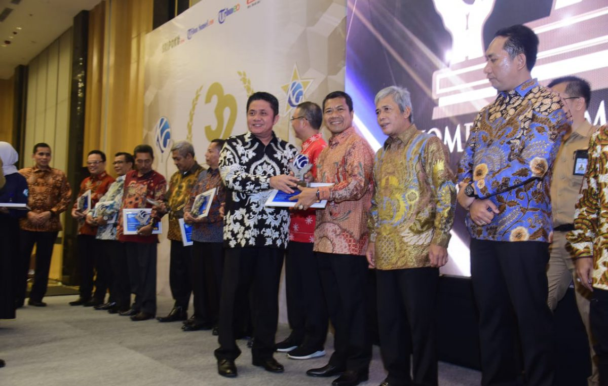 Banyuasin Raih Penghargaan The Best Fisheries Program pada ajang Kompas Gramedia Award 2019