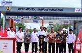 Jokowi Resmikan Tol Terpeka Lampung-Kayu Agung, Akan lanjut Palembang-Betung Banyuasin