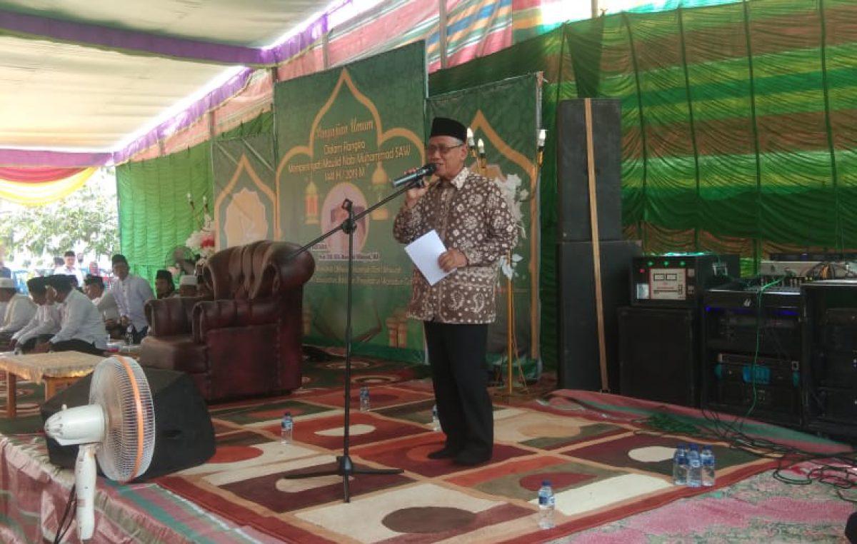 Peringatan Maulid Nabi Muhammad Wabup Slamet ajak Masyarakat Teladani Kisah Rosul