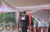 Wabup H.Slamet pimpin Upacara Hari Pahlawan dan Ziarah Nasional di Banyuasin