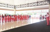 258 Atlet dari 20 Cabang Olahraga (Cabor) PORPROV XII Resmi dilepas Bupati Askolani