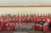 Pelepasan Kontingen Banyuasin Untuk Mengikuti PORPROV Ke XII Sumatera Selatan di Kota Prabumulih