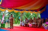 47 Orang Anggota Badan Permusyawaratan Desa (BPD) dari 7 desa Resmi Dilantik Bupati Askolani