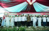 Wakil Menteri Agama RI, Gubernur Sumsel dan Bupati Hadiri Tausiyah Kebangsaan
