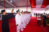 Pelantikan dan Pengambilan Sumpah Penjabat Kepala Desa dan Pengukuhan Ketua RT/RW Kecamatan Banyuasin III.