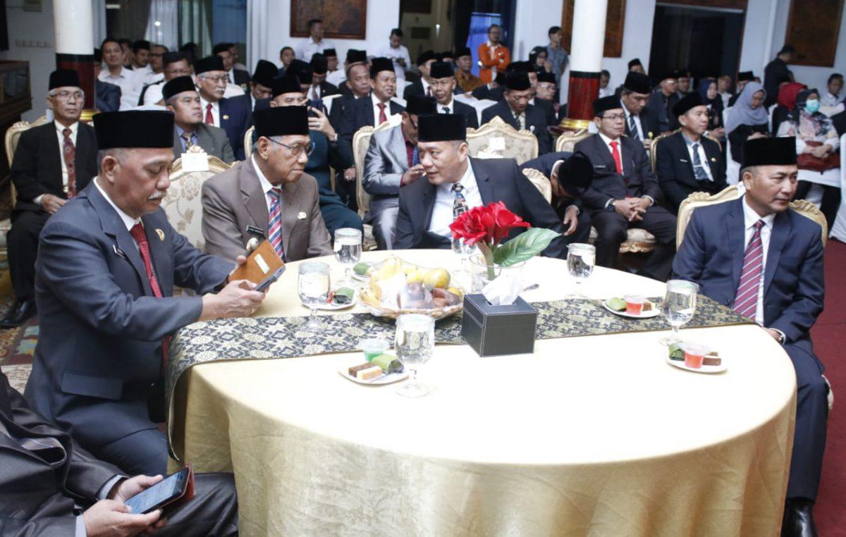 Wakil Bupati H. Slamet Hadiri acara pengukuhan Kepala Perwakilan BPKP Provinsi Sumsel