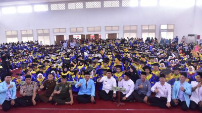 Wisuda Santriwan dan Santriwati BKPRMI Kabupaten Banyuasin