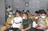 Gubernur Sumsel, Pandam II Sriwijaya dan Kapolda Sumsel Telekonfrence Dengan Bupati/Walikota Se-Sumsel Terkait Penanganan Penyebaran Virus COVID-19