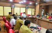 Rapat koordinasi Persiapan Tanggap Darurat  Pencegahan Virus Covid-19