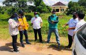 Tim P2JN Tinjau Lapangan Jalan Kota Pangkalan Balai, Pelebaran Dilaksanakan Tahun 2021