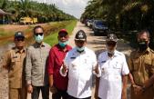 Bupati Banyuasin dan Wakil Bupati Resmikan Jalan Poros Sungai Dua-Prajen