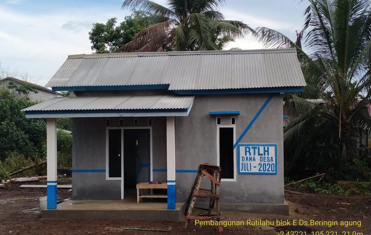 Dana Desa Bedah Rumah Warga Miskin Mulai Dirasakan Masyarakat