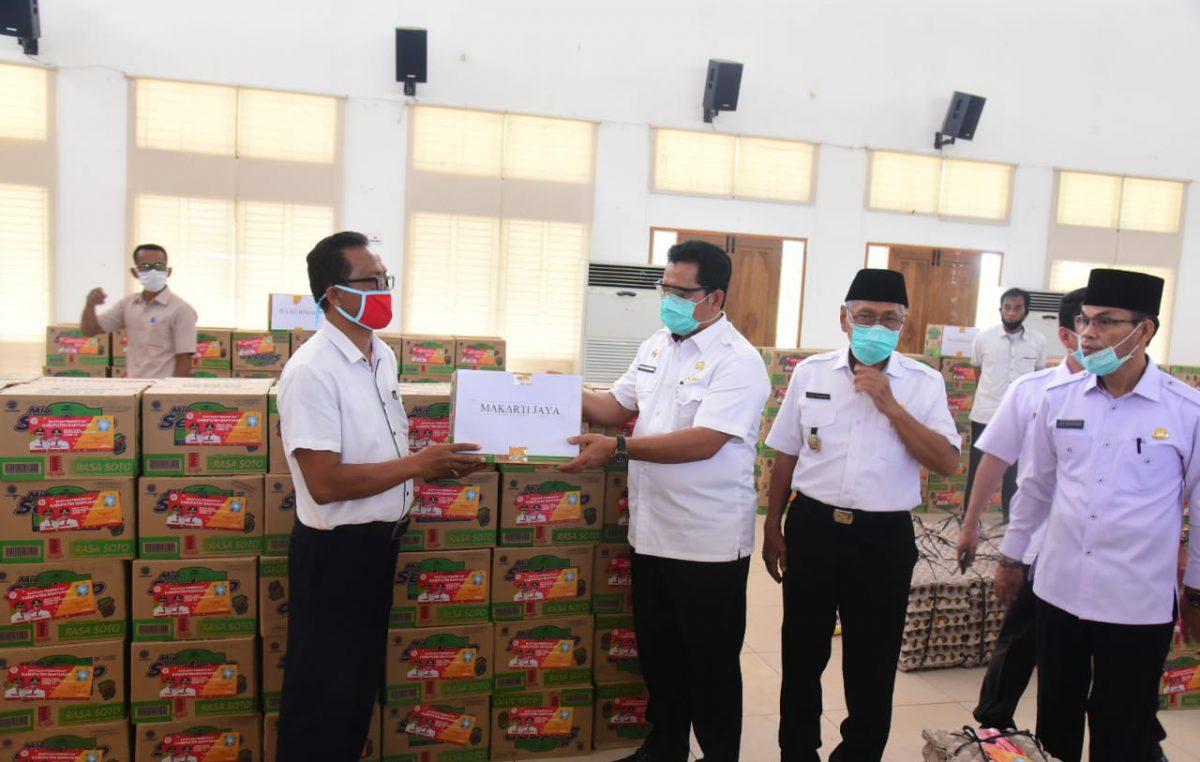 Bantuan Pangan Bupati Askolani Untuk 10.759 KPM Kecamatan Talang Kelapa