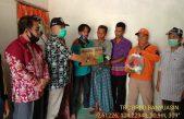 Dapat Bantuan Bupati Banyuasin, Keluarga Korban Tak Kuasa Tahan Tangis