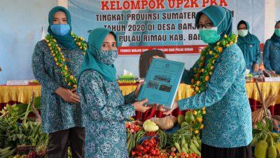 Desa Banjar Sari Wakili Banyuasin Pada Lomba Up2k Tingkat Provinsi