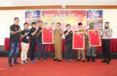 Bupati Banyuasin Launching Jersey Tim Sepakbola PS. Banyuasin